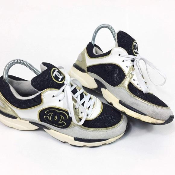 Vintage Chanel Sneakers   Poshmark